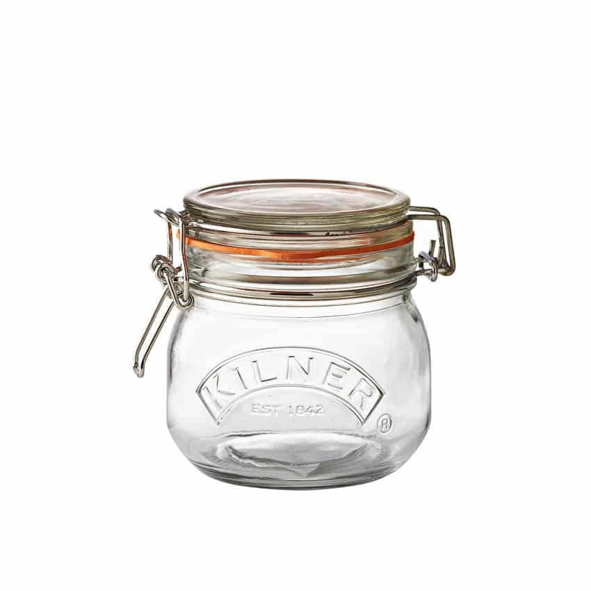 Kilner Clip Top Glass Jar 0.5 litre (0025.490) EUPreppers.com Copyright © All rights reserved. Kilner Jars / Rayware Group