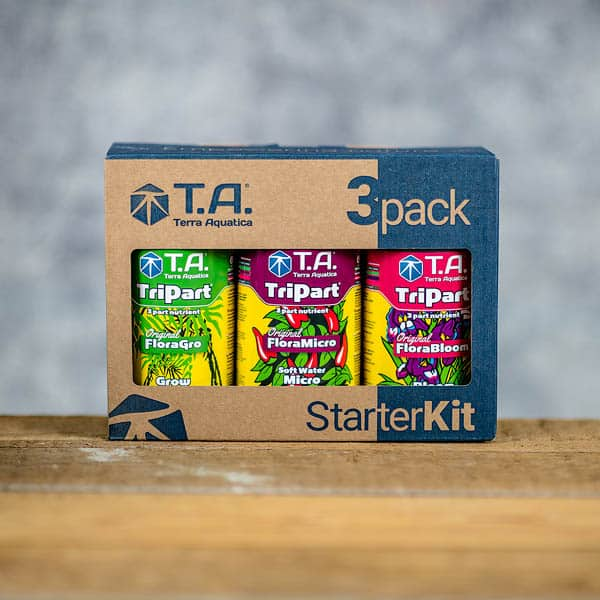0.5 L x 3 TriPart 3pack StarterKit by TA/Terra Aquatica (Tripack by GHE)Copyright © Kristian Adolfsson / adolfsson.photo