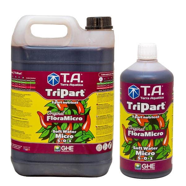 1 L + 5 L TriPart Soft Water Micro by TA/Terra Aquatica (Original FloraGro by GHE)Terra Aquatica