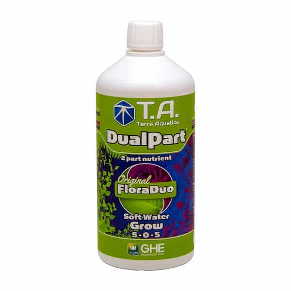 1 L DualPart Soft Water Grow, Bloom by TA/Terra Aquatica (Original FloraDuo by GHE)