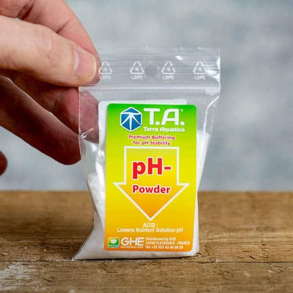 25 grams pH- / pH Minus Powder by TA/Terra Aquatica (GHE)