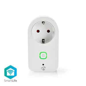 Nedis SmartLife Smart Plug Strömmätare | Power meter/monitor WIFIP120FWT Schuko Type F Euro Smart Home Wifi (5412810269952)