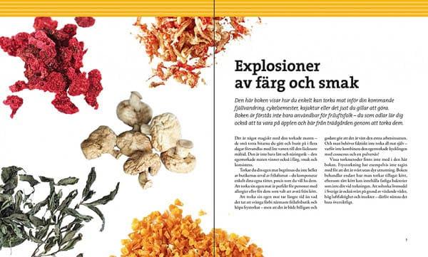 Torka mat   Dehydrate food av Erik Tornblad, Recept   Recipes, Calazo förlag   Publisher  (9789186773816)