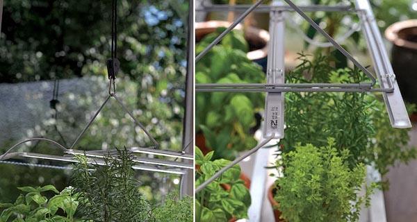 Nelson Garden Hängare för 3 LED (LED No.1 och No. 2) hissmekanism | Opphengstativ justerbart | Ophæng hejsemekanisme | Kasvivalaisimen ripustin, korkeussäätö, 5606 (7312600056060)