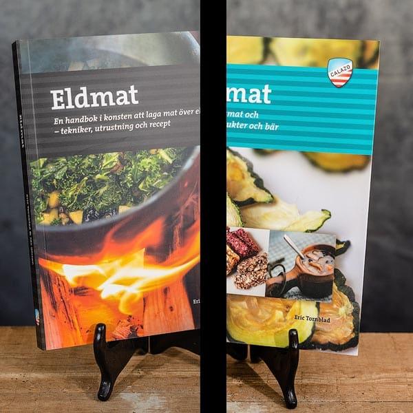 Eldmat Laga mat över lägereld Recept | Recipes & Torka mat | Dehydrate food, Calazo förlag | Publisher (9789188335234 & 9789186773816)