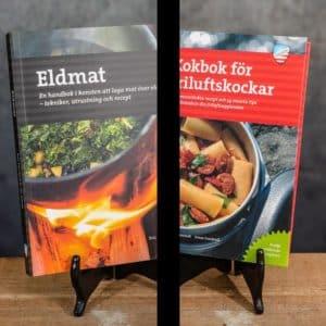 Eldmat Laga mat över lägereld Recept | Recipes & Kokbok för Friluftskockar | Cookbook for Outdoor Chefs Calazo förlag (9789188335234 & 9789188779779)