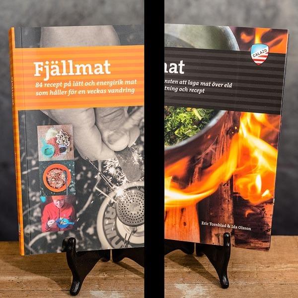 Fjällmat på Fjällvandringen & Eldmat Laga mat över lägereld Recept   Recipes Calazo förlag (9789186773557 & 9789188335234)