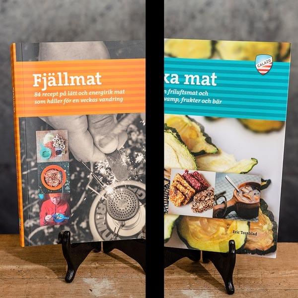 Fjällmat på Fjällvandringen & Torka mat   Dehydrate food, Calazo förlag   Publisher (9789186773557 & (9789186773816)