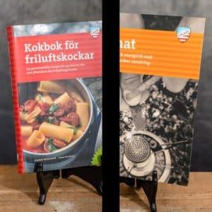 Kokbok för Friluftskockar | Cookbook for Outdoor Chefs & Fjällmat på Fjällvandringen Calazo förlag | Publisher (9789188779779 & 9789186773557)