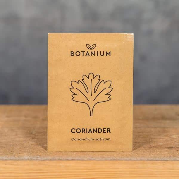 Botanium Självvattnande Kruka, Frön Koriander (Coriandrum sativum) | Self-watering planter / pot, Seeds Coriander, GrowZone.se (7350096730033)