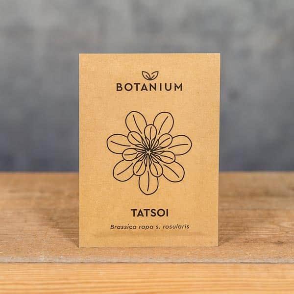 Botanium Självvattnande Kruka, Frön Tatsoi (Brassica rapa s. rosularis) | Self-watering planter / pot, Seeds Tatsoi, GrowZone.se (7350096730217)