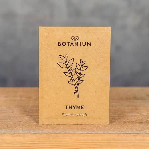 Botanium Självvattnande Kruka, Frön Timjan (Thymus vulgaris) | Self-watering planter / pot, Seeds Thyme, GrowZone.se (7350096730194)