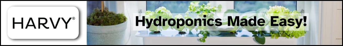 Internal Banner Ad Growzone.se - Harvy Hydroponics system for your home