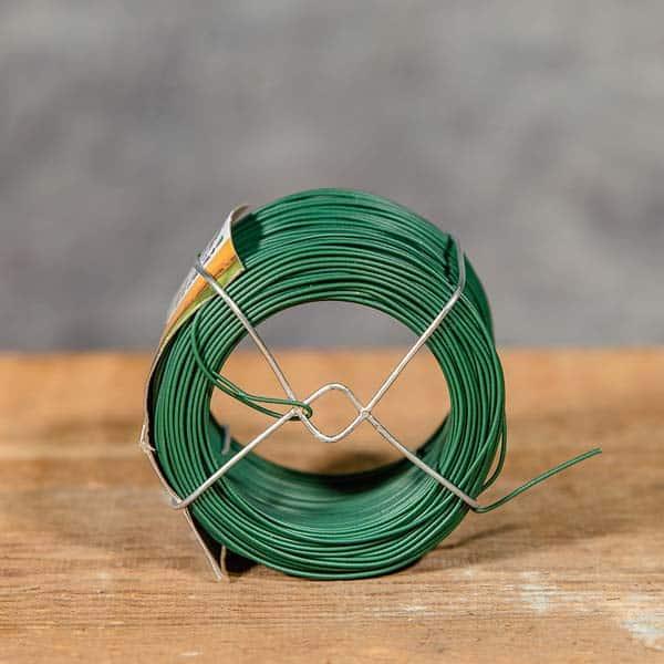 Bindtråd Nelson Garden 6056, Grön, Plastöverdragen ståltråd | Opbindingstråd | Oppbindingstråd | Rautalanka sidontaan (7312600060562)
