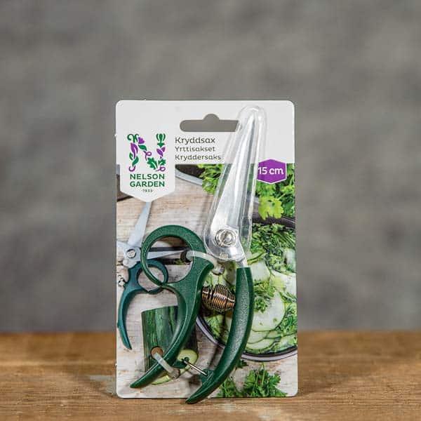 Kökets Kryddsax Nelson Garden, 15 cm, 5985 | Scissors | Yrttisakset | Kryddersaks (7312600159853)