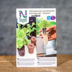 Odlingsplugg 14 st, Nelson Garden, 5739 | Brikette | Kylvökapseli | Planteplugg (7312600057395)