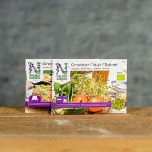 Groddar   Idut   Spirer Organic, Nelson Garden, Grow Zone Scandinavia (growzone.se)