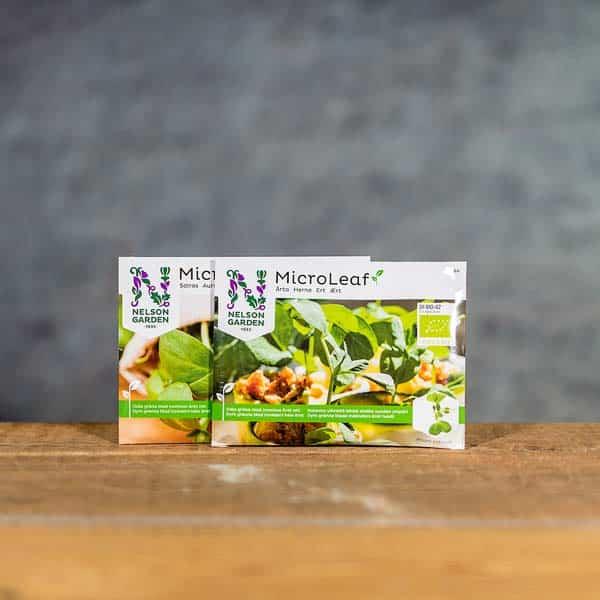 MicroLeaf Microgreens Paket Solros & Ärta   Solsikke & Ert / Aert   Auringonkukka & Herne   Bundle Sunflower & Pie, Nelson Garden