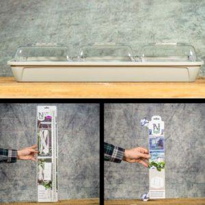 Microgreens Medium kit, Grow Zone Scandinavia