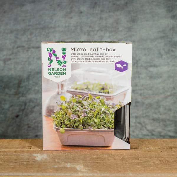 Nelson Garden MicroLeaf 1-box for Microgreens | Bladgrönt / Groddar, 5792 (7312600157927)