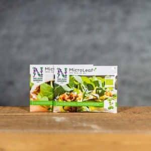 MicroLeaf Microgreens Paket Solros & Ärta | Solsikke & Ert / Aert | Auringonkukka & Herne | Bundle Sunflower & Pie, Nelson Garden