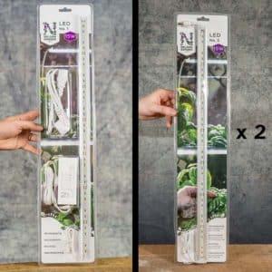 Kit: Nelson Garden LED No.1 (5566) & LED No.2 x 2 (5568), LED grow lights | LED-växtbelysning, Grow Zone Scandinavia