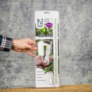 Nelson Garden LED Small Grow Light, 39 cm, 15 W, 5564,  for Harvy 3 | Växtbelysning för Harvy 3 Hydroponiskt Odlingskit (7312600055643) Grow Zone Scandinavia